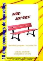 Affiche concours d'écriture 2012