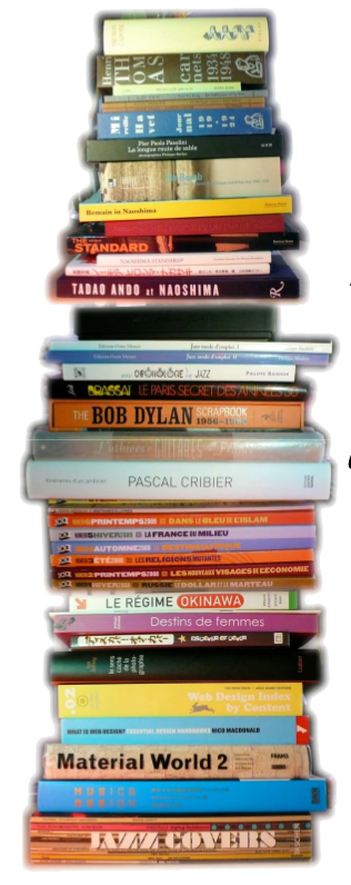 Pile de livres